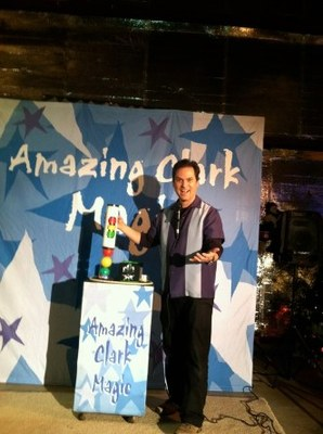 The Amazing Clark Magic and Puppet Show!